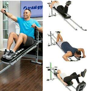Gym Home Fitness Incline Weight Training Fitness w 6/8/10 Resistance Levels Mach