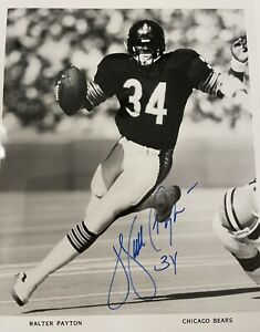 Walter Payton NFL Chicago Bears JSA Certified autographed 8x10 photo