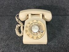 VINTAGE Bell System Beige Rotary Dial Desk Telephone