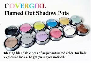 CoverGirl Flamed Out Shadow Pot Eye Shadow,