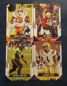 2021 Score Football Base Veterans 197-400 with Rookies You Pick