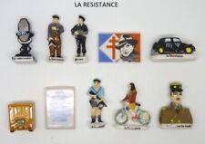 LA RESISTANCE JEAN MOULIN GL DE GAULLE CITROEN TRACTION FEVE 3D au choix