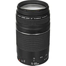 4th Of July Sale BRAND NEW Canon EF 75-300mm f/4-5.6 III Lens 6473A003