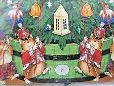 Gordon Fraser Harbottle Hamster Christmas Advent Calendar NIP England