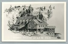 "Rainbow Tavern US Route 40 Roadside ""RPPC Photo"" Vintage SODA SPRINGS California"