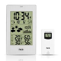 FanJu FJ3352 Weather Station with Outdoor Sensor/Atomic Clock/Temperature