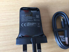GENUINE HTC TCP900 MAINS CHARGER + HTC USB CABLE FOR DESIRE ONE M8 M7 610 310