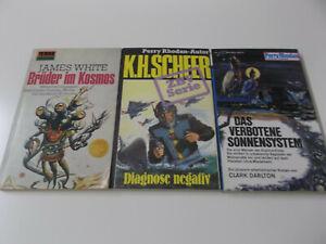 59094 - SCIENCE FICTION KONVOLUT (K.H. SCHEER, CLARK DARLTON, JAMES WHITE) 3 TBs