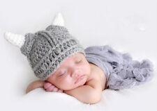 Fotoshooting Neugeborene Baby Kostüm Wikinger Fotografie Foto - Shooting Mütze
