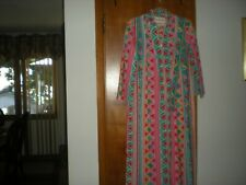 David Brown Saks Fifth Avenue Small Long Sleeve Caftan Housecoat - Size Small