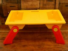 Official Lego Folding Table - Portable Fold Out Legs - 1990's