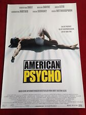 American Psycho Kinoplakat Poster A1, Christian Bale, Reese Witherspoon