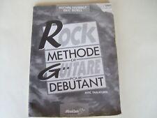 ROCK Méthode de guitare pour débutant Sigwalt et Boell (sans le cd)