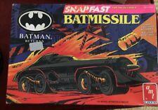 AMT Ertl Batman Returns Batmissile Model Kit 1/25 scale NEAR COMPLETE 2003