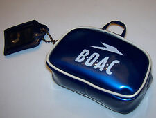 Rare Vintage BOAC British Overseas Airways Corp Airlines Doll Mini Flight Bag