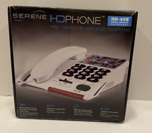 Serene Innovations HD-40S High Definition Amplified Phone Telephone Damaged Box