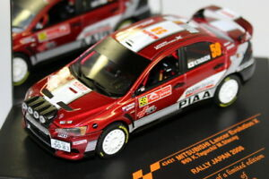 Vitesse 1/43 43421 Mitsubishi Lancer Evo X Rally Japan 2008 Diecast Model