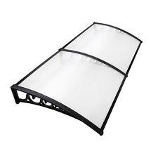 DIY Window Door Awning Cover Transparent 100 X 200cm UV Rain Outdoor Sun Shield