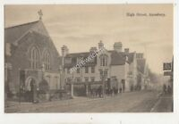 High Street Amesbury Wiltshire Vintage Postcard Tucker 696b