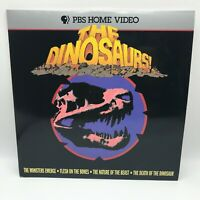 The Dinosaurs! Laserdisc LD PBS Home Video Documentary LPBS 1029-6 1993