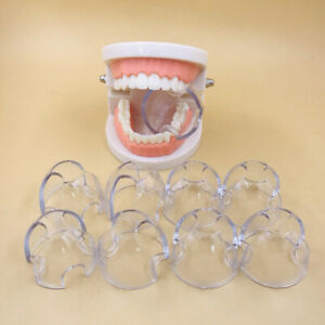 10*Dental Autoclavable Lip Retractor Cheek Expander Mouth Opener Clear Posterior