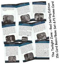 Die Twilight Zone Stange Serling Edition - 156 Karte Basic / Sockel Set & P1