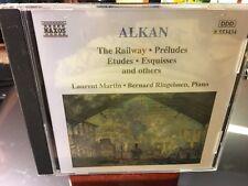 CD  ALKAN  The Railway  PRELUDES ETUDES ESQUISSES  Laurent Martin  (Piano)