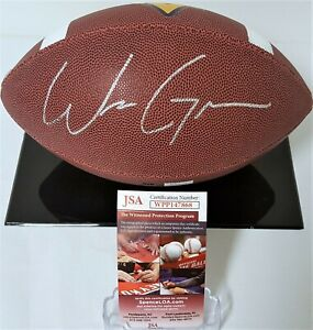 Will Grier Signed Autograph West Virginia Football Dallas Cowboys JSA WPP147868