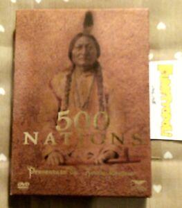 500 NATIONS 1^ edizione cofanetto 4 DVD Eagle Pictures K. Costner OTTIMO SC44