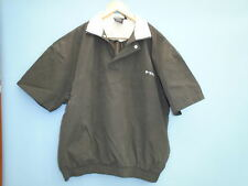 New Dunlop Half Zip  SS  Windproof Top/Jacket-Size-Medium-Colour-Black