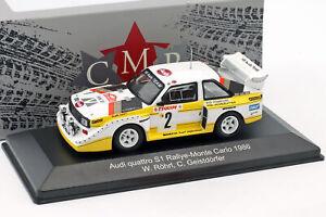 Audi Quattro Sport E2 Night Version 4th Rallye Monte Carlo 1986 Röhrl, Geistdö