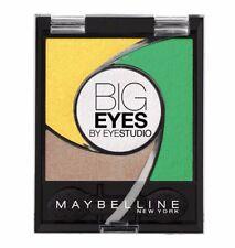 Maybelline - Big Eyes Eyeshadow Quad Luminous Grass #02 Eye Shadow SEALED Carded