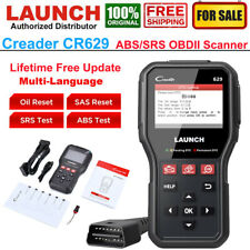 LAUNCH CR629/CR319 Car ABS SRS Diagnostic Scan Tool OBD2 Code Reader Oil Reset