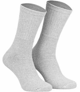 8 oder 16 Paar Sportsocken - Tennissocken, Grau Unil 39-42/43-46