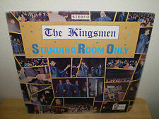 """THE KINGSMEN........""""STANDING ROOM ONLY"""".........OOP HTF GOSPEL ALBUM"""