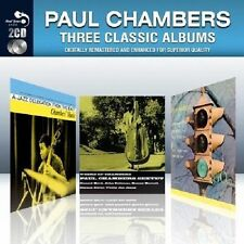 Paul Chambers Three Classic Albums (New 2 CD Set) Chambers music Whims of & Go