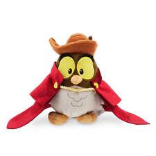 "NWT DISNEY Store Sleeping Beauty Animators Collection Owl Plush 6"" Mini Bean Bag"