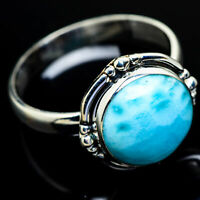 Larimar 925 Sterling Silver Ring Size 12 Ana Co Jewelry R9664F