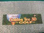 GOLDEN+TEE+3D+GOLF+Arcade+Markee+Header+Marquee+Graphics+Translite