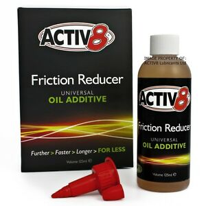 125ml ACTIV8 Oil Additive - Engine & Gearbox (wet or dry clutch) - 2/4-Stroke