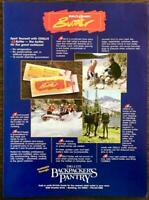 1988 O'Dell's Dairy Butter PRINT AD Dri-Lite Backpackers Pantry Reading CA