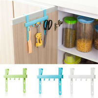 Door Rack Hooks Hanging Kitchen Cabinets Storage Holders Home Small Item Tools