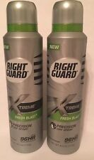 2 x Right Guard Xtreme Defense 5 Precision Dry Sprays FRESH BLAST. Ship Free