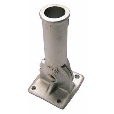 New Silver 1 inch Flagpole Holder Adjustable Free Adapter Included