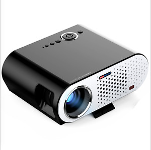 GP90 Portable Mini 1080P Projector Full HD Home Theater Cinema LED 3200 Lumens