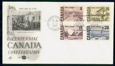 New listing Mayfairstamps Canada Fdc 1967 Centennial Confederation Art Craft Combo First Day