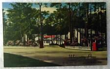 Linen Postcard Whispering Pines Motel U S 13 Accomac Virginia #234