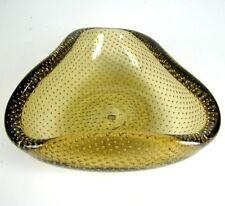 Venini vidrio Ascher/Cenicero firmado Carlo Scarpa Design Glass ashtray