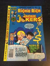 """Richie Rich And Jackie Jokers#32 Awesome Condition 8.0(1979)""""Jackiestein"""""""