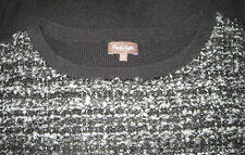 Phase eight body con dress black grey silver boucletweed 12